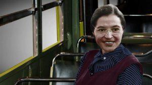 Rosa Parks se negó a ceder su asiento