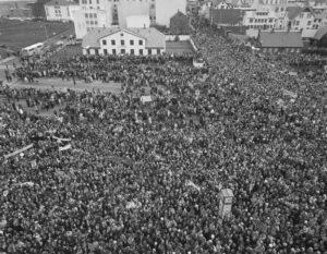Islandia, el día libre de las mujeres