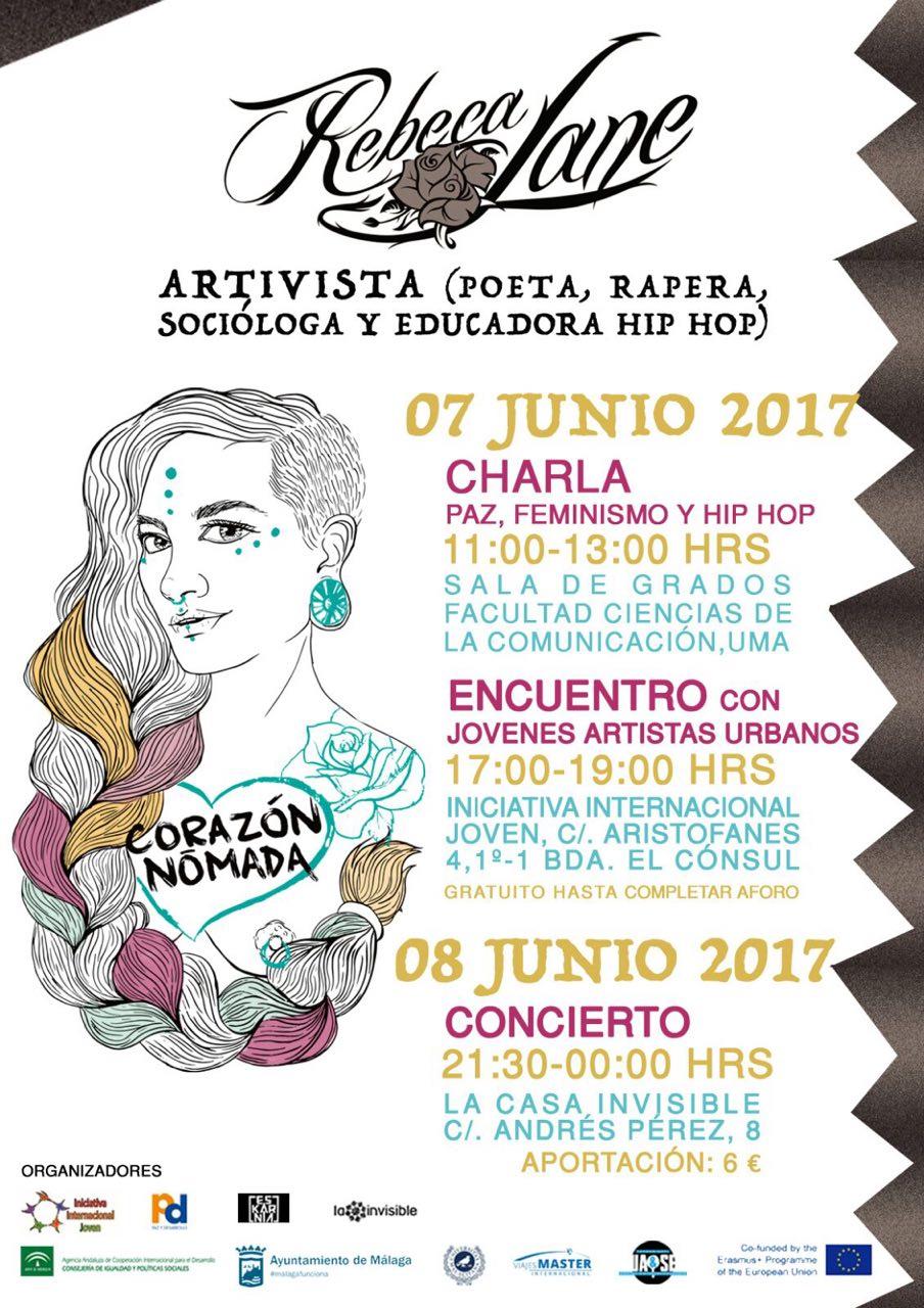 Encuentro con jóvenes artistas urbanos - Feministas en Lucha Málaga