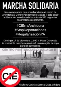 Marcha solidaria #CIErraArchidona @ Plaza Ochavada de Andalucía | Archidona | Andalucía | España
