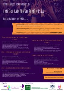 Itinerarios formativos de Empoderamiento Feminista