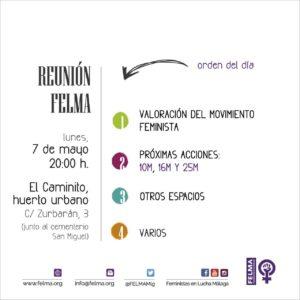 Asamblea mensual FELMA @ El Caminito, huerto urbano | Málaga | Andalucía | España