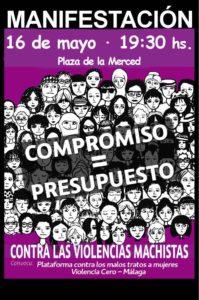 16 de mayo  - Manifestación contra las violencias machistas @ Plaza de la Merced | Málaga | Andalucía | España