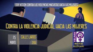 25 M Contra la violencia judicial hacia las mujeres @ Calle Larios | Málaga | Andalucía | España