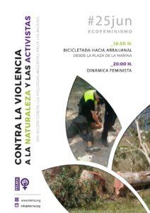 25J Contra la violencia a la naturaleza y las activistas @ Arraijanal