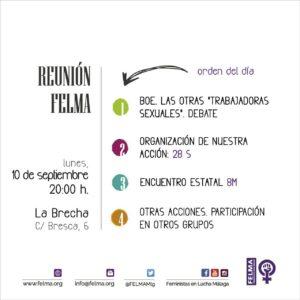 Reunión mensual FELMA @ Bresca 6