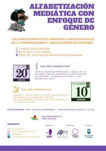 Alfabetización Mediática con Enfoque de Género @ Sede Colegio de periodistas de Málaga