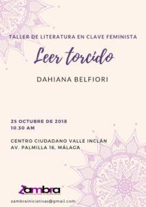 Taller de literatura en clave feminista @ Centro ciudadano Valle Inclán,