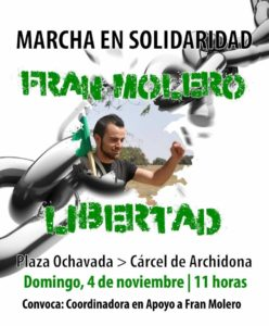 MARCHA Fran Molero Libertad @ Plaza ochavada, Archidona