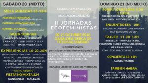 II Jornadas ecofeministas @ Garaldea
