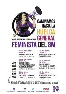 FELMA Construyendo la Huelga General Feminista 8M @ varios (ver cartel)