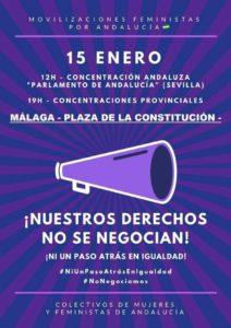 Movilización 15 de Enero @ Sevilla y todas las provincias Andaluzas