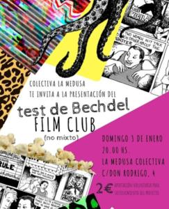 Test de Bechdel film club (no mixto) @ La medusa colectiva | Málaga | Andalucía | España