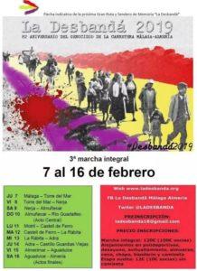 La Desbandá.- Marcha de Málaga a Almeria @ Malaga-Almeria