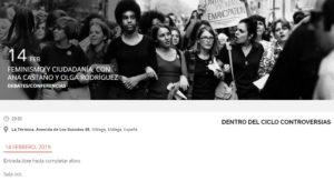 Feminismo y ciudadanía, con Ana Castaño y Olga Rodríguez @ Sala 1 La Termica | Málaga | Andalucía | España