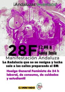 Hacia la Huelga general Feminista @ Santa Justa, Sevilla | Sevilla | Andalucía | España