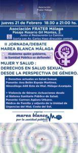 II Jornada debate Marea Blanca @ Asociación FRATE Málaga