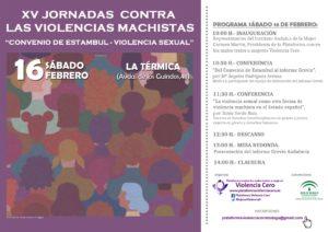XV Jornadas contra las violencias machistas @ La Térmica | Málaga | Andalucía | España