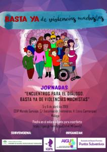 """Jornadas """"Encuentros para el diálogo. Basta ya de violencias machistas"""" @ CEIP Manolo Garvayo   Málaga   Andalucía   España"""