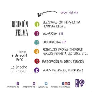 Asamblea mensual FELMA @ LA RAÍZ | Málaga | Andalucía | España