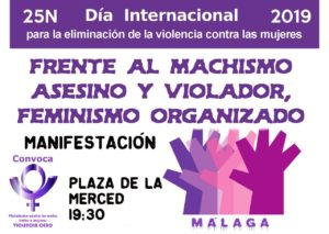 25N Día internacional para la eliminación de la violencia contra las mujeres @ Plaza de la Merced Málaga | Málaga | Andalucía | España