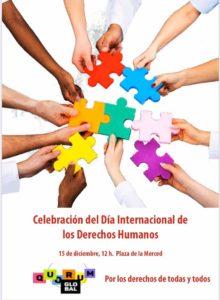 Día internacional de los derechos humanos @ Plaza de la Merced | Málaga | Andalucía | España