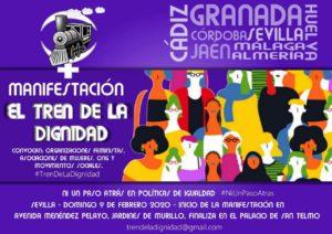 9F Tren de la dignidad @ Avenida Menéndez Pelayo | Sevilla | Andalucía | España