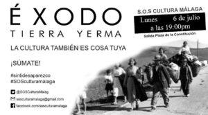 El éxodo de la cultura @ Plaza de la Constitución | Málaga | Andalucía | España