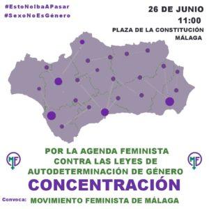 Concentración.- Por la agenda feminista @ Plaza de la Constitución | Málaga | Andalucía | España