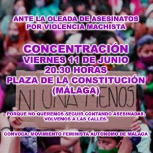 No queremos seguir contando asesinadas @ Plaza de la Constitución | Málaga | Andalucía | España