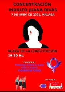 Concentración #IndultoJuanaRivasYA @ Plaza de la Constitución | Málaga | Andalucía | España